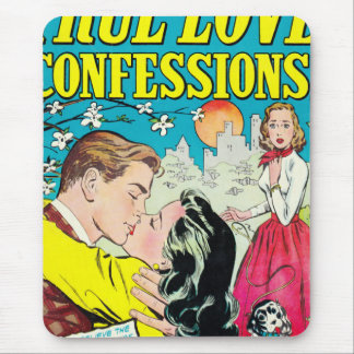 True Love Confessions Mouse Pad