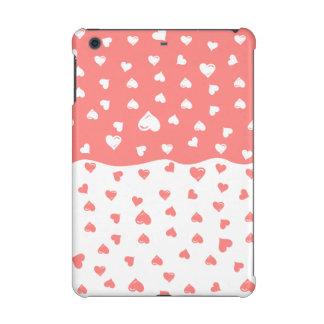 True love Coral Hearts iPad Mini Retina Covers