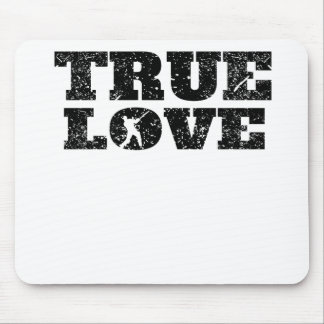 True Love Cricket (Distressed) Mouse Pad