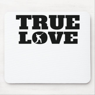 True Love Cricket Mouse Pad