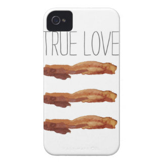 True Love Cut Out Streaky Bacon Artsy Case-Mate iPhone 4 Case