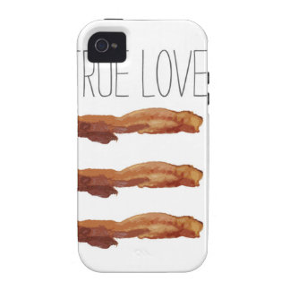 True Love Cut Out Streaky Bacon Artsy iPhone 4 Cover