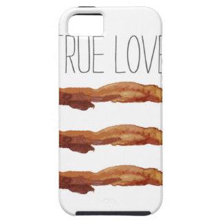 True Love Cut Out Streaky Bacon Artsy iPhone SE/5/5s Case