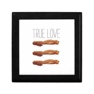 True Love Cut Out Streaky Bacon Artsy Keepsake Box