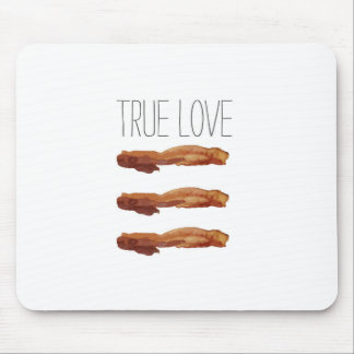True Love Cut Out Streaky Bacon Artsy Mouse Pad