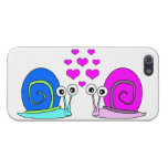 True Love Cute Snail Cartoon Cases For iPhone 5