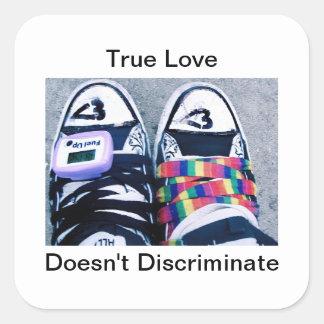 True Love Doesn't Discriminate Sticker