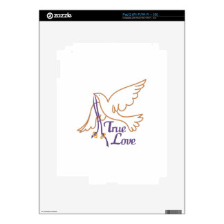 True Love Dove Decal For The iPad 2