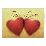 True love Heart cards