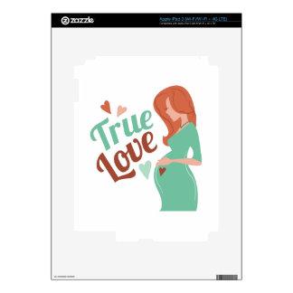 True Love iPad 3 Decal