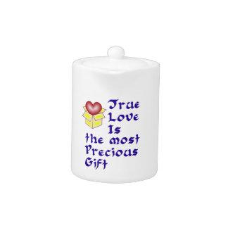 True Love Is ... - Blue Teapot