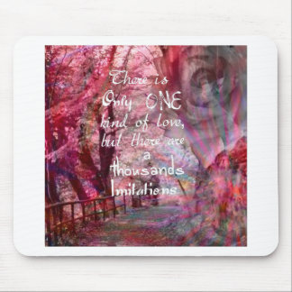 True love is not easy to find it mouse pad