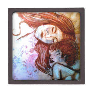 True Love Is That Of Mother for Child Premium Trinket Box