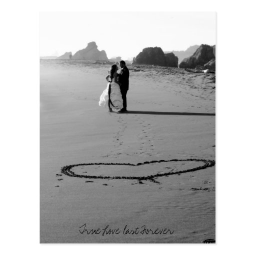 True Love last Forever Postcard