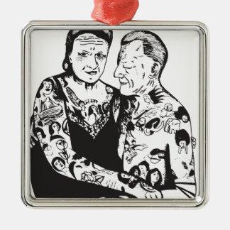 True Love Metal Ornament