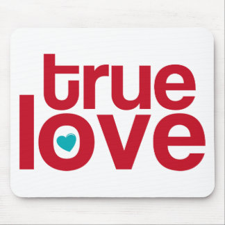 True Love Mouse Pad