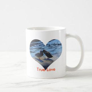 True Love Classic White Coffee Mug