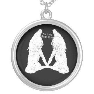 True Love Never Dies: Vampire & Werewolf Necklace