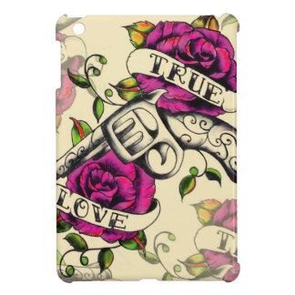 True Love Old school pistol tattoo art. Case For The iPad Mini