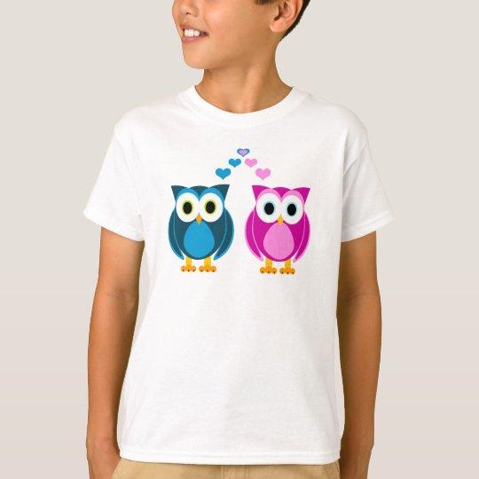 True Love - Owl Cartoon T-Shirt