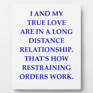 true love plaque