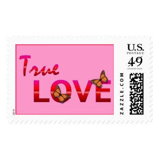 True Love postage Stamp