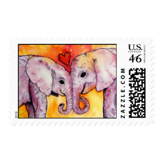 True Love Postage Stamps