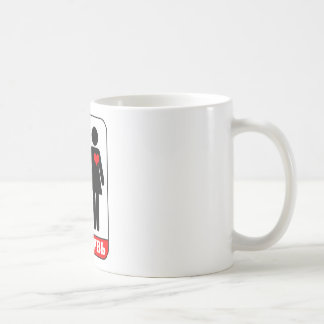TRUE LOVE (Russian) Coffee Mug