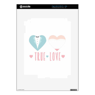 True Love Decals For The iPad 2