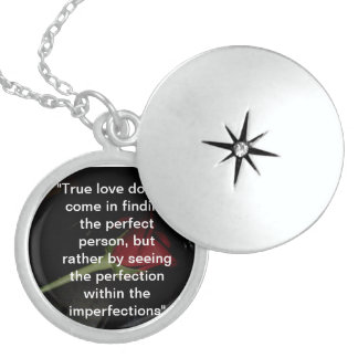 True love sterling silver necklace