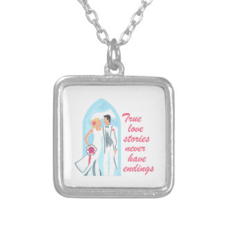 TRUE LOVE STORIES PERSONALIZED NECKLACE