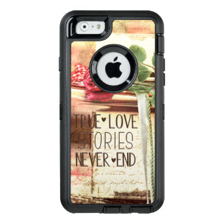 True love stories never end OtterBox defender iPhone case