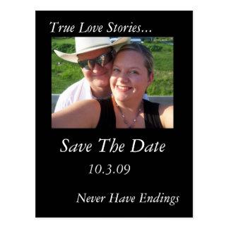 True Love Stories Postcard