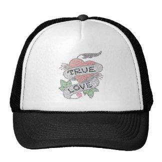 True Love Tattoo Art Design Trucker Hat