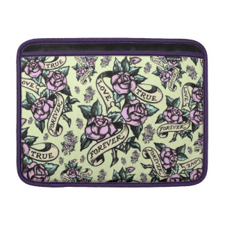 True Love Tattoo rose art Macbook air sleeve
