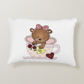True Love Teddy Bear Decorative Pillow