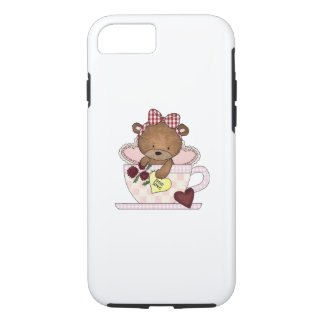 True Love Teddy Bear iPhone 8/7 Case