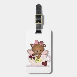 True Love Teddy Bear Tag For Bags