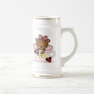 True Love Teddy Bears Beer Stein