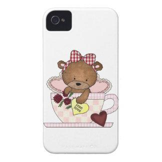 True Love Teddy Bears iPhone 4 Covers