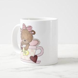 True Love Teddy Bears Large Coffee Mug