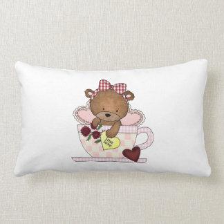True Love Teddy Bears Pillow