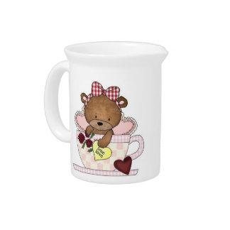 True Love Teddy Bears Pitcher