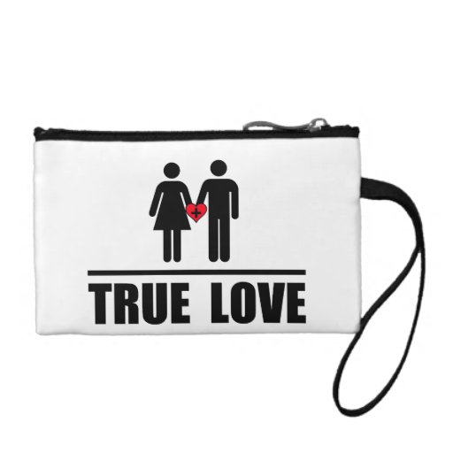 True Love Traditional Marriage Coin Wallets