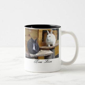 True Love Two-Tone Coffee Mug