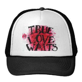 true love waits hats