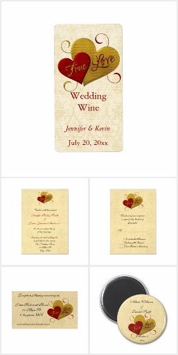 True Love Wedding Set