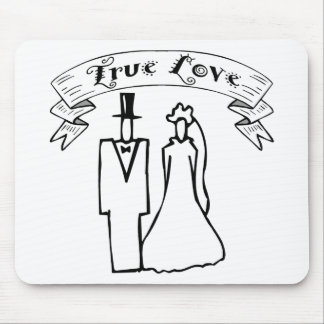 True Love Wedding T-Shirts & Gifts Mouse Pad
