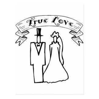 True Love Wedding T-Shirts & Gifts Postcard