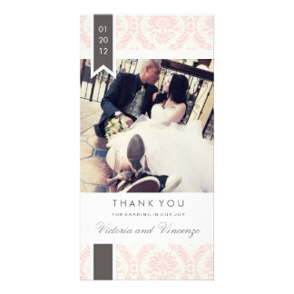 TRUE LOVE | WEDDING THANK YOU CARD